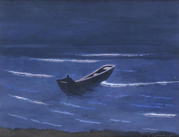 Leon Spilliaert (Belgian, 1881-1946) Nocturne
