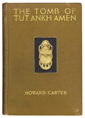 CARTER (HOWARD) The Tomb of Tut-Ankh-Amen. Discovered by the Late Earl of Carnarvon and Howard Carter, 3 vol.