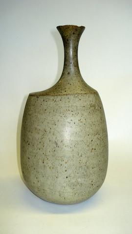 An irregular form bottle vase by Joanna Constantinidis