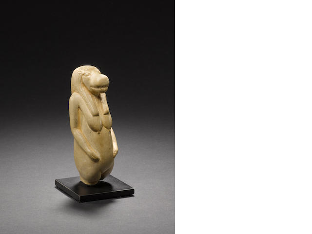 An Egyptian limestone figure of Taueret
