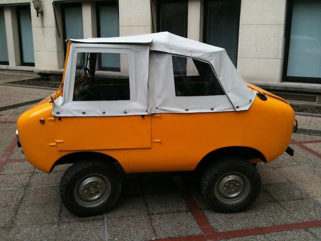 1968 Ferves Ranger  Chassis no. FUSO571