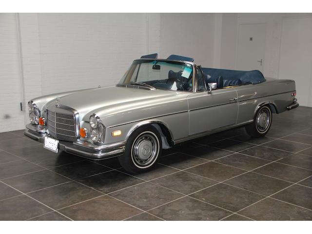 Mercedes 280 SE 3.5 Cabriolet,1971 Mercedes-Benz 280SE 3.5 Cabriolet  Chassis no. 11102712003696