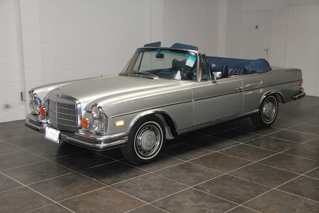 1971 Mercedes-Benz 280SE 3.5 Cabriolet  Chassis no. 11102712003696