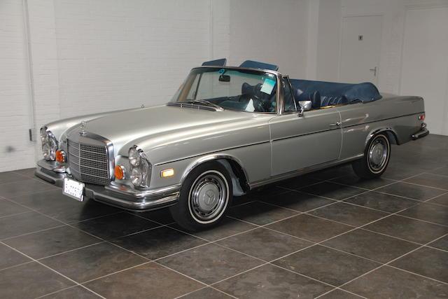 1971 Mercedes-Benz 280SE 3.5 Cabriolet  Chassis no. 11102712003696