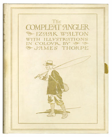 ANGLING WALTON (IZAAK) The Compleat Angler, NUMBER 224 OF 250 EDITION DE LUXE COPIES