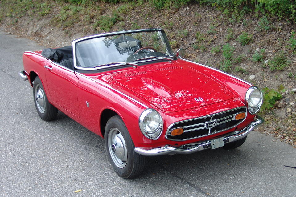 1970 Honda S800 Roadster  Chassis no. S800.1006039 Engine no. 010662