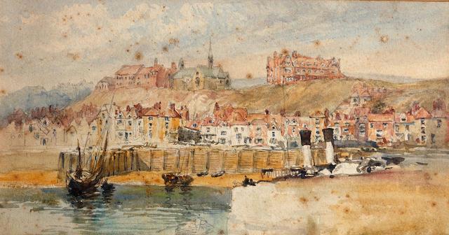 Mary Weatherill (British, 1840-1900) Whitby, 1870