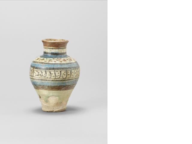 A Raqqa pottery baluster Vase
