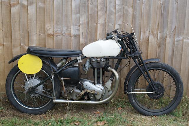 c.1946 Ariel 500cc Frame no. AP 1767 Engine no. TC 381