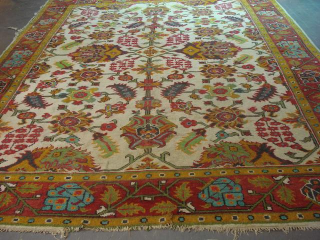 An Ushak carpet West Anatolia, 364cm x 284cm