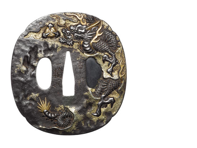 Two iron tsuba 18th/19th century