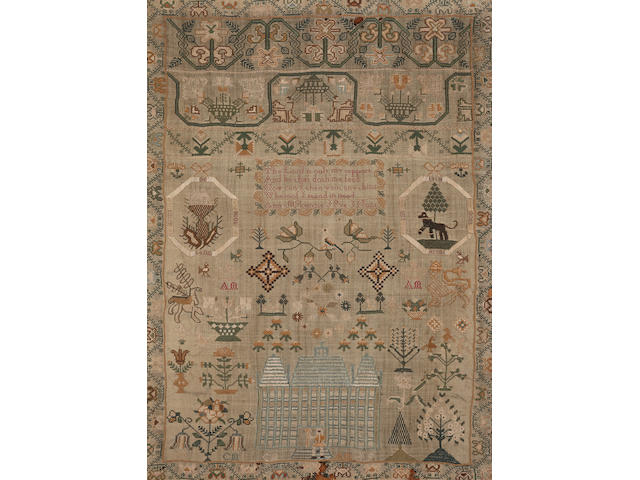 An 18th century sampler