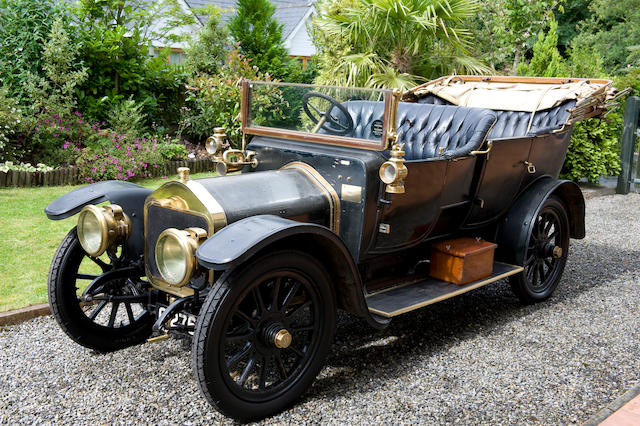 1911 Wolseley 12/16hp Type A4 2,235cc Touring Phaeton  Chassis no. 10756 Engine no. 183/64
