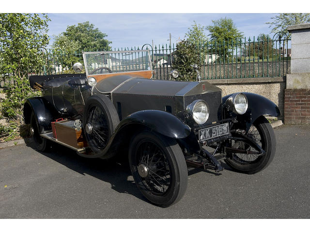 Originally the property of Mrs Maud Gordon Bennett - formerly Baroness George de Reuter,1922 Rolls-Royce 40/50hp Silver Ghost Tourer  Chassis no. 206MG Engine no. O405
