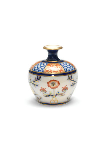 William Moorcroft, attributed  'Aurelian' a Macintyre Vase, circa 1897