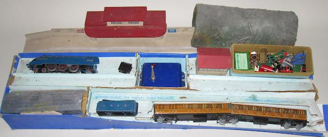 Hornby Dublo (pre-war) EDP1 Passenger set qty