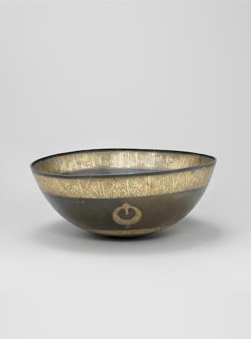 A fine large Seljuk high-tin bronze?? Basin Persia, 12th Century
