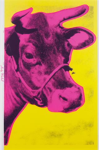 Andy Warhol (American, 1928-1987) 'Cow', 1966 (Feldman & Schellmann II.11)