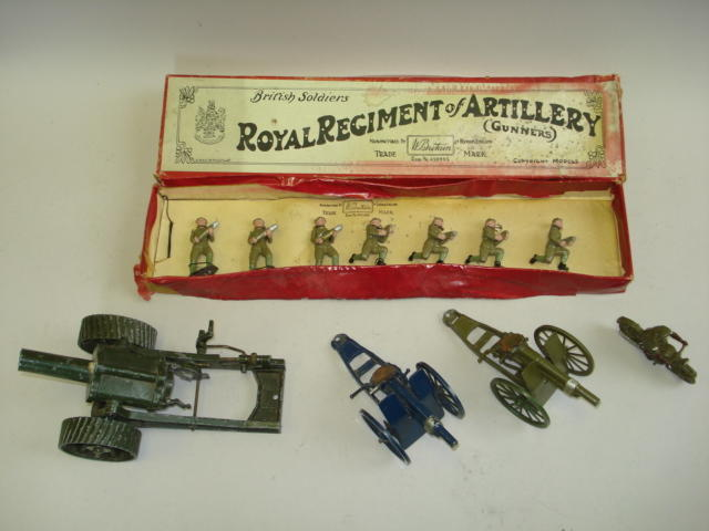 Britains set 1730, Gunners with Shells 11