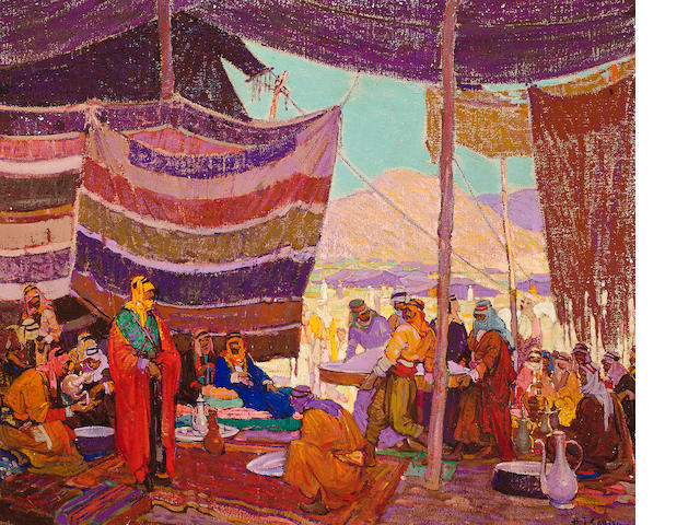 soulen, hajj camp