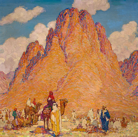 (n/a) Henry James Soulen (American, 1888-1965) A pilgrimage to Palestine, Sinai