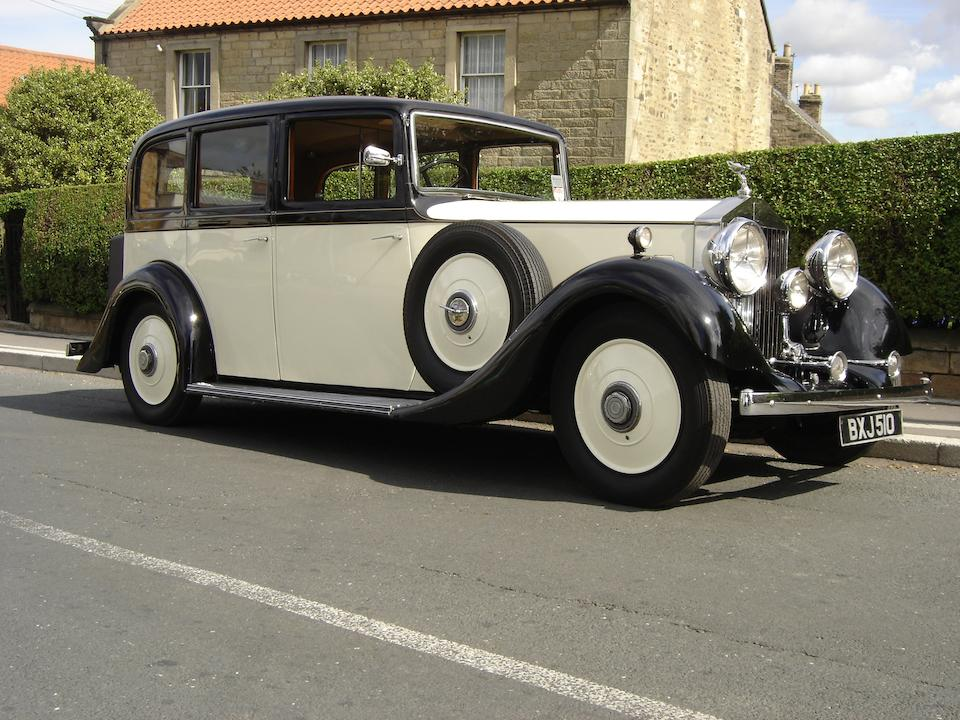 1935 Rolls-Royce 20/25hp Limousine  Chassis no. GXK22 Engine no. Z27B