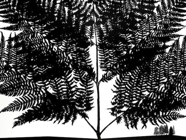 Morrison A set of black dahlia prints