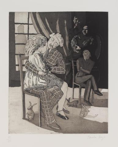 Paula Rego (British, 1935) 'The Wild Duck', 1990