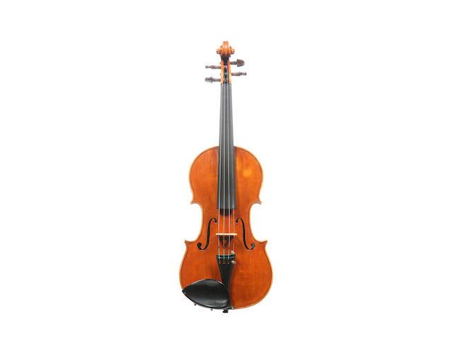 An Italian Violin by Giovanni Baptista Morassi,  Cremona, 1972 (3)