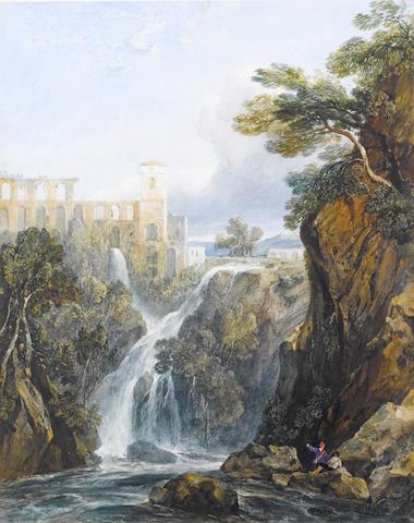 George Arthur Fripp, R.W.S. (British, 1813-1896) Tivoli