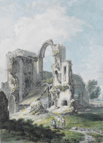 Thomas Hearne (British, 1744-1817) Castle Acre Priory, Norfolk