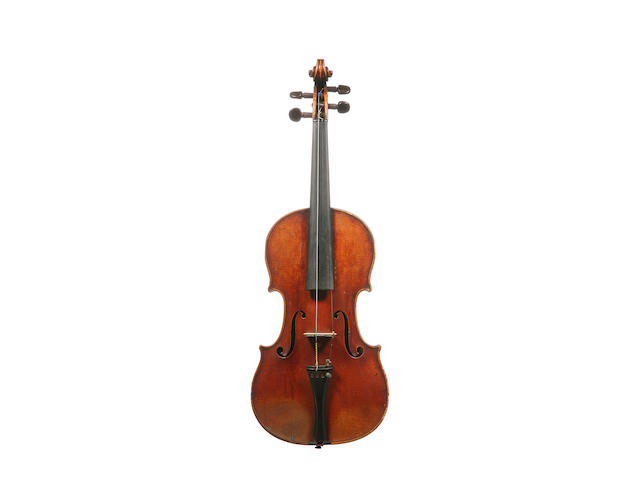A French Violin by Auguste Sebastien Phillipe Bernardel,  Paris 1846 (2)