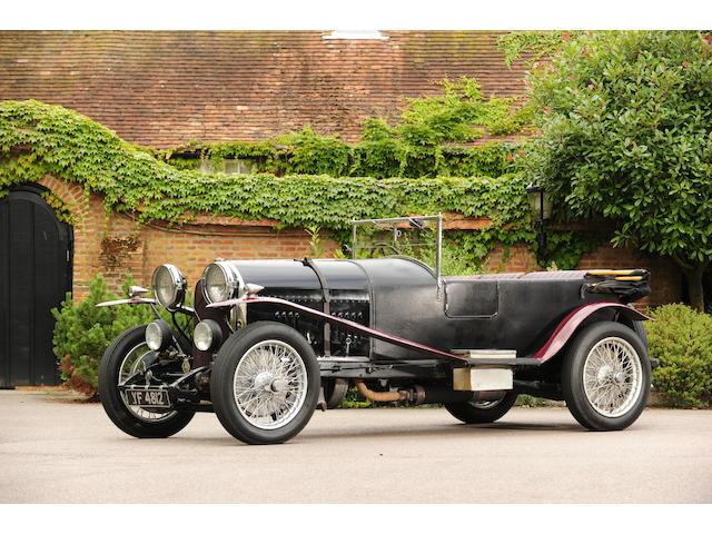 Ex-Forrest Lycett,1927 Bentley 3.0-Litre Speed Model Tourer  Chassis no. BL1608 Engine no. BL1608