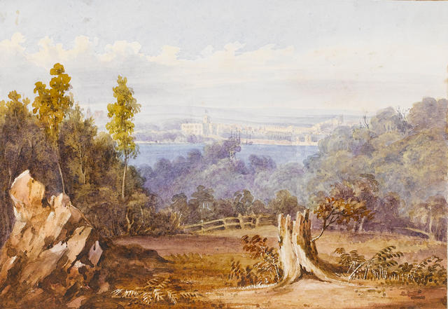 Christiana Susan Dumaresq (née McLeay) (British, 1799-1866) An album of views of the Dumaresq estate of St Helier's at Muswellbrook, New South Wales (album size)