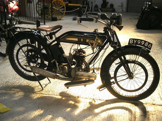 1924 BSA 349cc Model L Frame no. D3213 Engine no. 3263