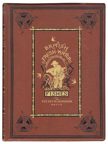 HOUGHTON (WILLIAM) British Fresh-Water Fishes, 2 vol.