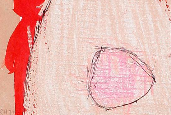 Roger Hilton (British, 1911-1975) Red Spot