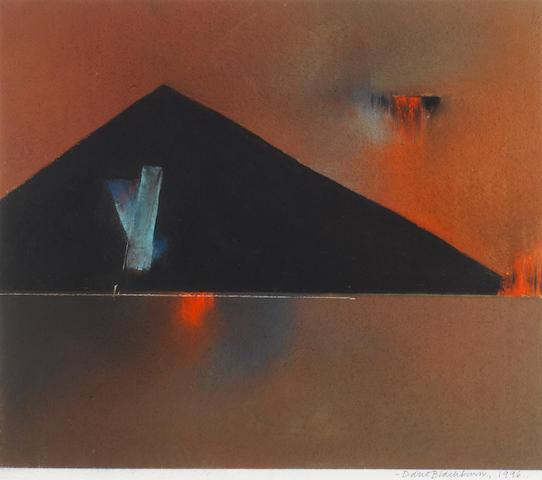 David Blackburn (British, born 1939) 'Evening Landscape', 1997