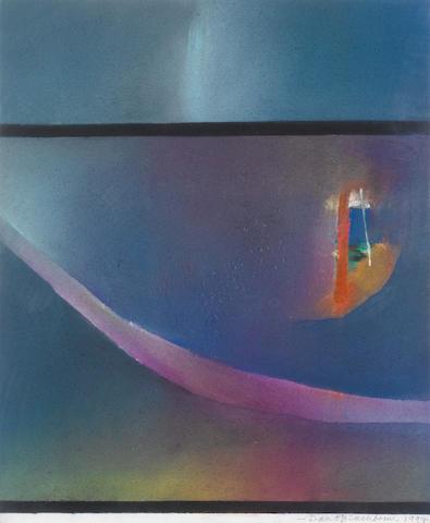 David Blackburn (British, born 1939) 'Where the Rainbow Ends', 1997