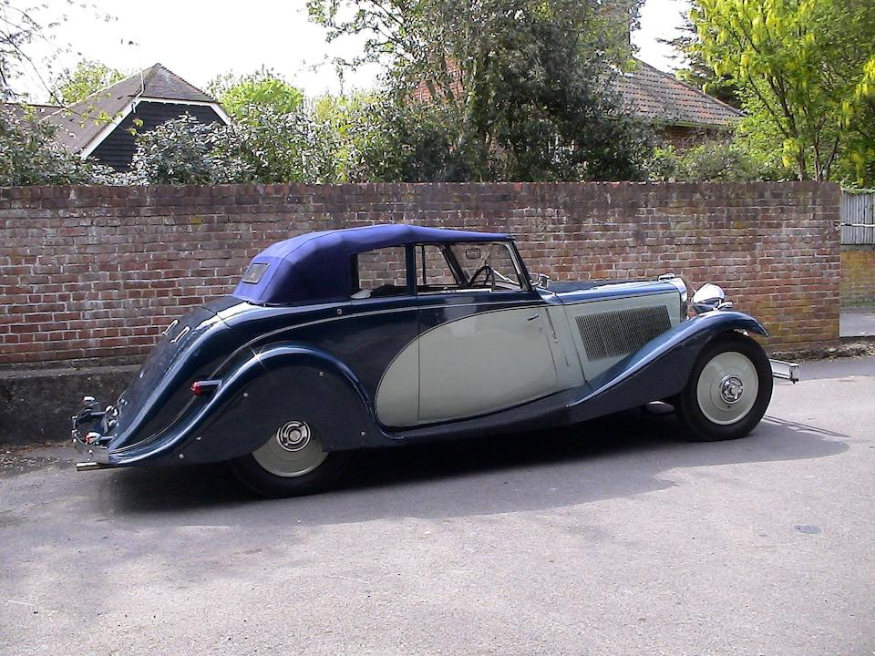 1935 Talbot BA110 Drophead Coupé  Chassis no. 34611