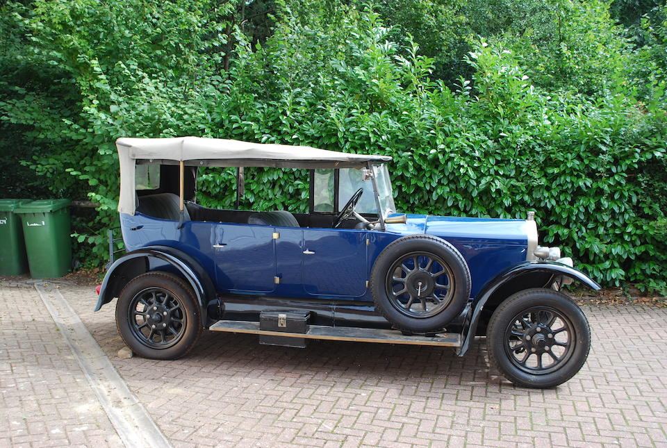 Property of a deceased's estate,1925 Wolseley Tourer  Chassis no. 46004 Engine no. 187A/2879