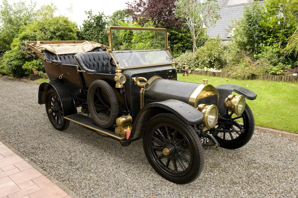539,1911 Wolseley 12/16hp Type A4 2,235cc Touring Phaeton  Chassis no. 10756 Engine no. 183/64