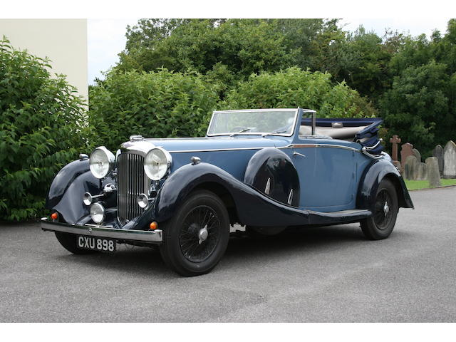 1936 Lagonda LG45 drophead coupé has been with its present owner since the early 1980s and has seen little use during the past 10 years