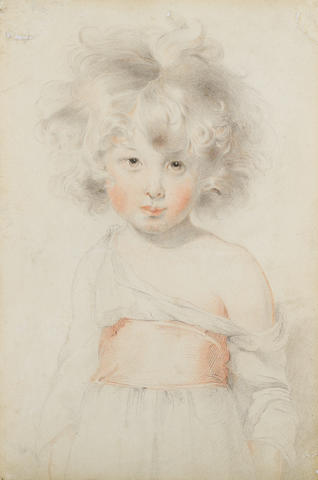 Sir Thomas Lawrence, PRA (British, 1769-1830) Portrait of a child