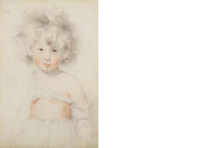 Sir Thomas Lawrence (Bristol 1769-1830 London) Portrait of a boy