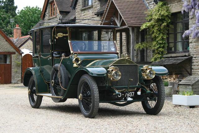 1913 Napier 30/35hp 4,122cc Type 44 Landaulette  Chassis no. 11610 Engine no. 18779