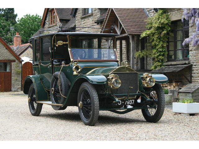 1913 Napier 30/35hp 4,122cc Type 44 Landaulette  Chassis no. 11610 Engine no. 18779