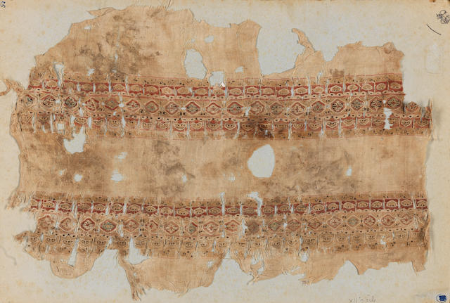 A Fatimid woven tiraz Fragment Egypt, 11th/12th Century