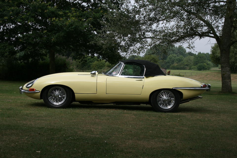 1965 Jaguar E-Type Series 1 4.2-Litre Roadster  Chassis no. 1E12329