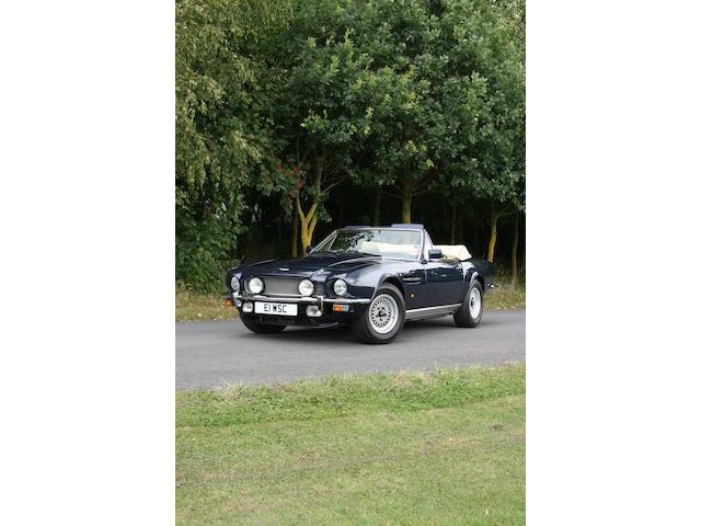 1987 Aston Martin V8 Volante, Chassis no. SCFCV81C6JTR15622 Engine no. V/585/5622